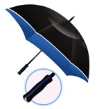 Two Tone Rim Umbrella - Avail in: Royal