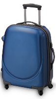 3 Piece PC Luggage Set Small - Blue