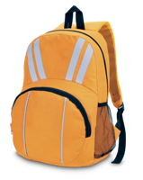 Twin Stripe Backpack - Yellow