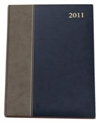 A4 2 Tone Excutive Diary - Avail in: Navy