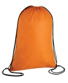 Drawstring Non Woven Backpack - Avail in: Orange