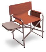 Deluxe Directors Chair - Terracotta