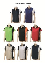 Ladies Coolway Golf Shirt
