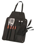 Boerie Braai Apron Set - Avail in: Blue