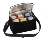 6 Pack Cooler With Front Pouch - Avail in: Blue