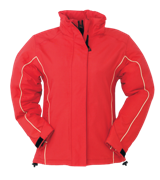 Waterproof Fitted Parka - Red