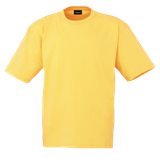 Unisex T Shirt - Yellow