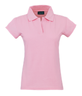 Womans Polo Shirt - Pink