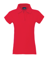 Womans Polo Shirt - Red