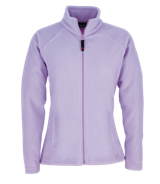 Fitted Fleece Jacket - Purple