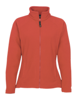 Fitted Fleece Jacket - Red