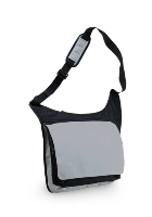 Ripstop Messenger Bag - Grey