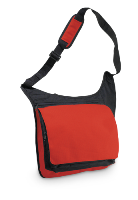 Ripstop Messenger Bag - Red