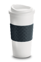 The McThermal Mug - White/Black