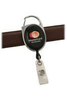Belt Clip Id Pull Reel - Avail in: Blue