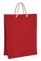 Jute Bag Shopper - Avail in: Red