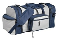5 In 1 Two Tone Tog Bag - Avail in: Navy / Grey