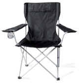 Limpopo Camp Chair - Black