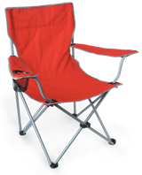 Limpopo Camp Chair - Red