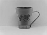 Glass Mugs 225 Ml - Sand Blasted Patterns