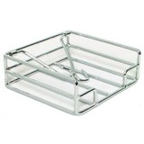 Chrome Napkin Holder 18X18Cm