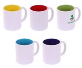 Inside Story Mug - Avail in: Yellow, Red, Lime, Aqua, Blue