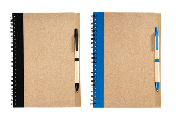 A5 Eco Notebook - Avail in: Black or Royal Blue