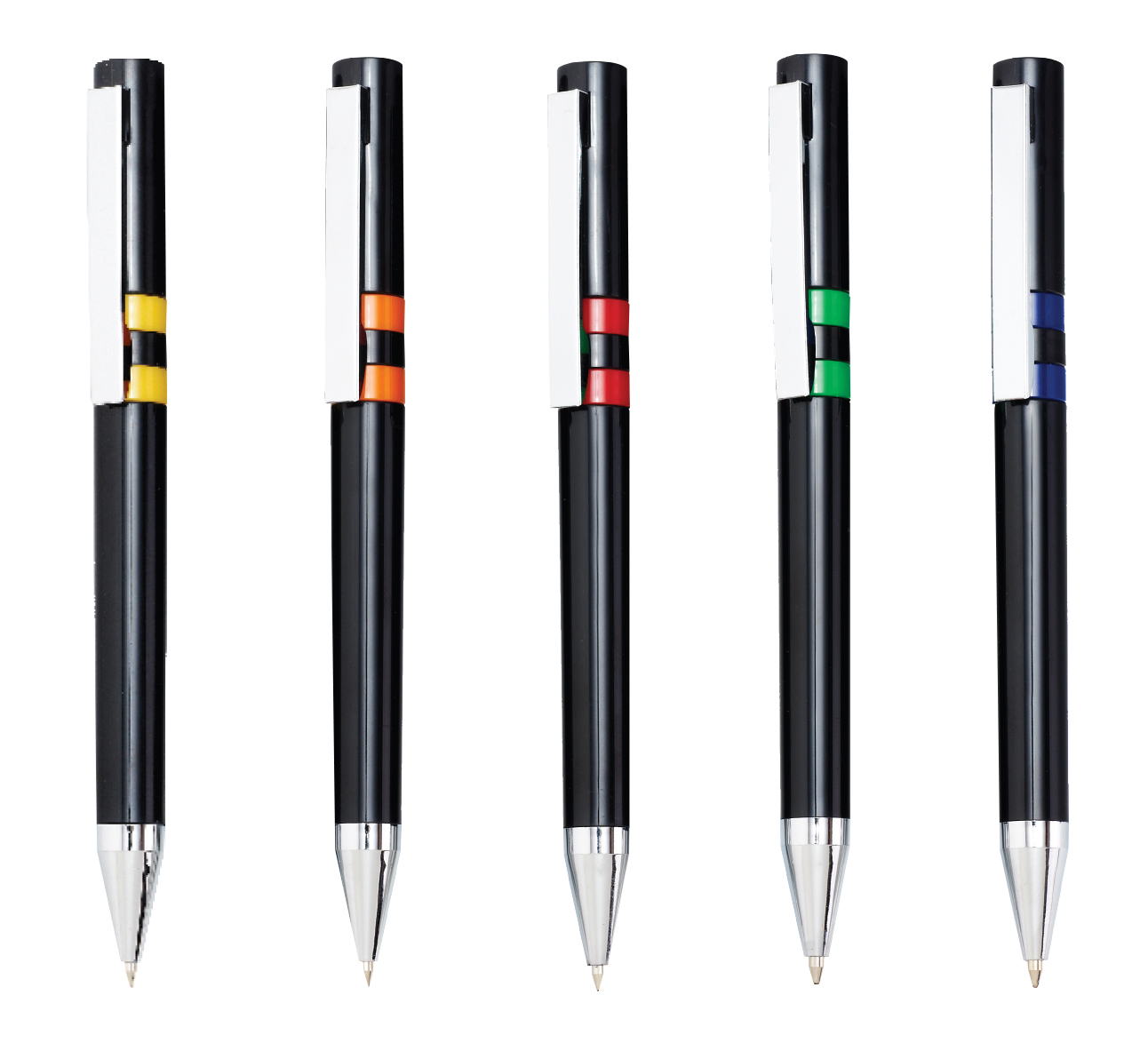 Deco Black Pen - Avail in: Orange, Red, Green, Yellow, or Blue