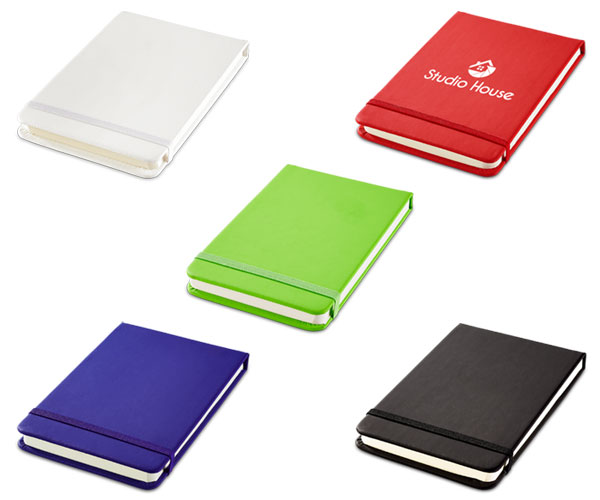 Discovery A6 Flip Journal - Avail in: Black, White, Red, Blue or