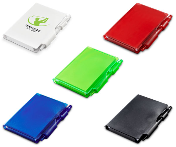 Nifty Notebook   - Avail in: White, Blue or Lime