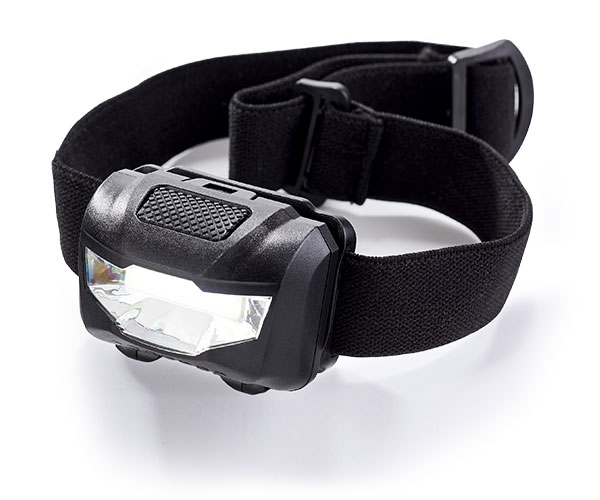 Pro-Lumen 2 Headlamp - Avail in: Black