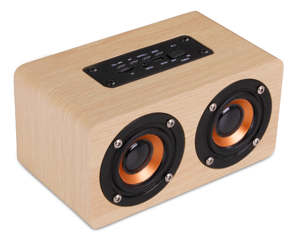 Amazon Deco Bluetooth Speaker - Avail in: Wood