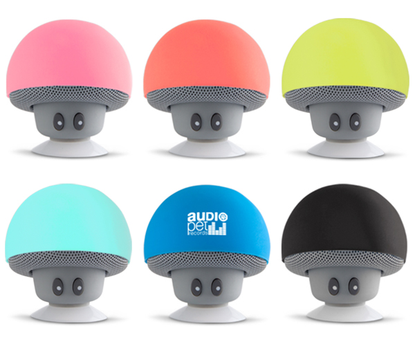 Shroom Bluetooth Speaker - Avail in: Pink, Black, Sand Red, Aqua