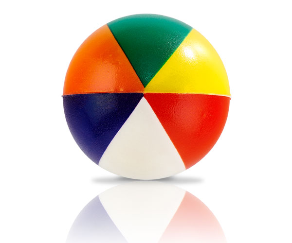 Beach Ball Stress Ball - Avail in: Multi