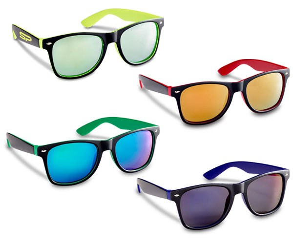 Jordy Sunglasses - Avail in: Red, Green, Yellow or Blue