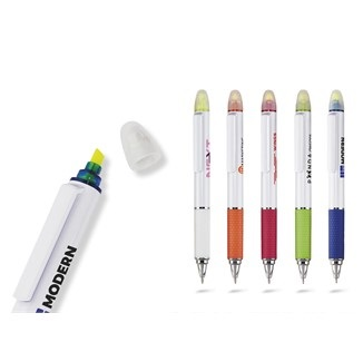 Topaz Highlighter Ball Pen