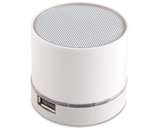 Connor Bluetooth Speaker - Avail in: White