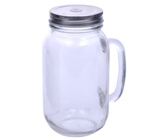 Sundowner 700Ml Glass Drinking Jar - Avail in: Clear