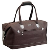 Cellini Air  Ultra Light Small Duffle Cordowan  Black  Gold  Plu