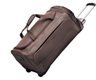 Cellini Air  Grand Opening Trolley Duffle Cordowan  Black  Gold