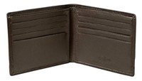 Cellini Centro  Credit Card Billfold Mocca  Black