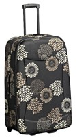 Cellini Flair  Expandable Trolley Pullman Brown Floral  Giraffe
