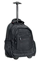 Cellini Explorer   Trolley Laptop Backpack mocca  Black  Navy