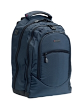 Cellini Explorer   Deluxe Laptop Backpack mocca  Black  Navy