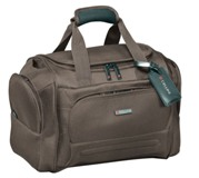 Cellini Microlite  Medium Multi-Pocket Travel Bag Mocca  Jet Bla