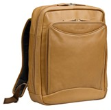 Cellini Monte Carlo  Laptop Backpack tan   Dark Chocolate