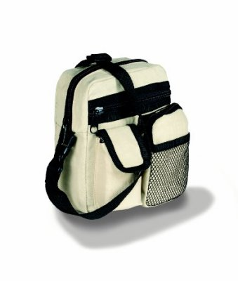 TRAVEL BAG WITH MANY HANDY COMPARTMENTS