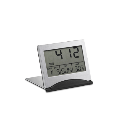 Digital Travel clock with Calender and thermometer