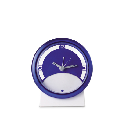 Two Colour desk clock - Avail in Ass Colours