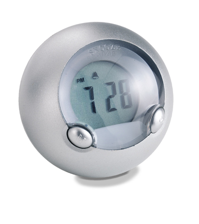 Bubble Alarm clock with light